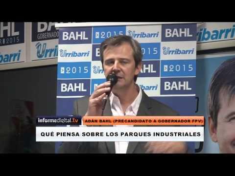 Elecciones 2015. Qu� piensa Bahl sobre los parques industriales