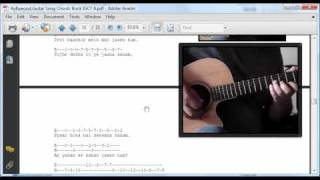 Bollywood Hindi Song Guitar Chords and Tabs Book view on youtube.com tube online.