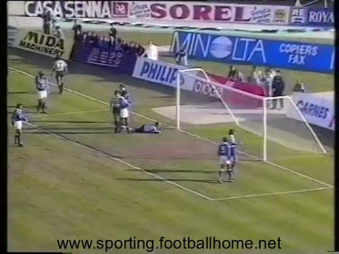 16J :: Sporting - 1 x Belenenses - 0 de 1989/1990