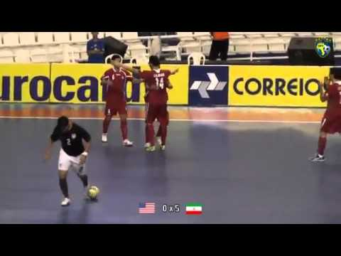 USA 0 - 8 IRAN - VII Grand Prix de Futsal 2011 - Manaus(AM)