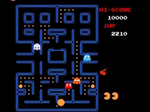 Pac-Man (Tengen) - Pac-Man Level 1 (Tengen) (NES) - Vizzed.com Play - User video