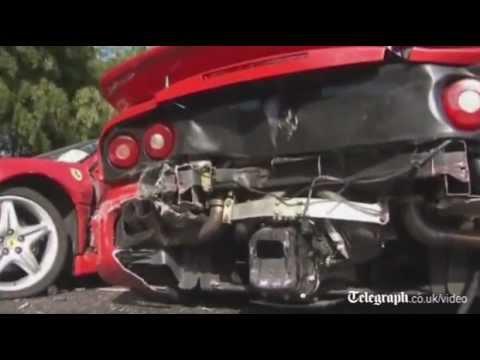 Ferraris, Mercedes and a Lamborghini involved in $4m super car pile-up in Japan