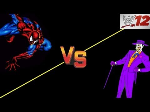 WWE 12: CAW ARENA - Spiderman VS The Joker