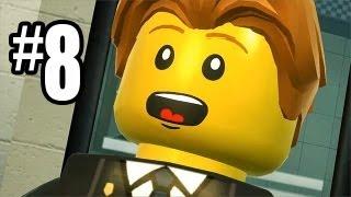 LEGO City Undercover Gameplay Walkthrough Part 8 - MINE MAN ACTION!! (Wii U HD)
