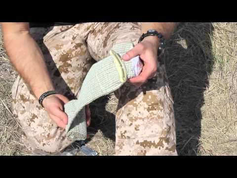 Israeli Bandage Demonstration