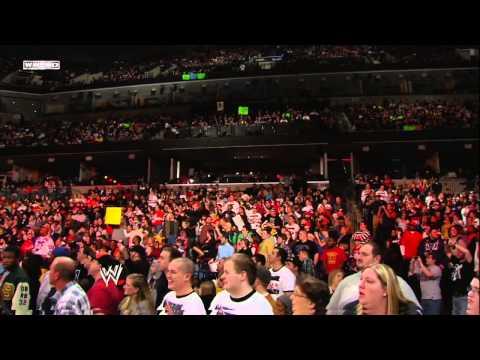 Chris Jericho returns: Raw, January 2, 2012