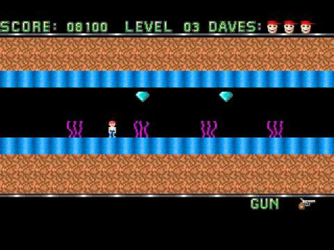 Dangerous Dave (PC DOS) - Gameplay