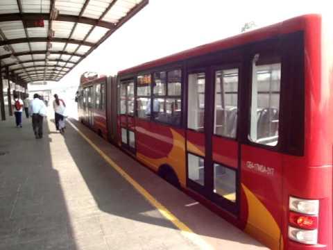 Actividad Visita al Metro Bus Mexico D.F. Estacion Terminal Dic 2009.MPG