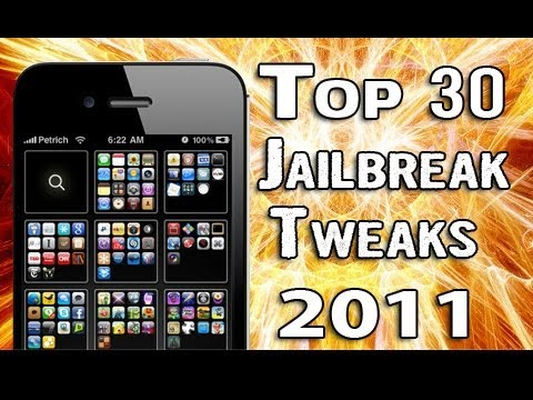 Top 30 Best Jailbreak Tweaks 2011 - iPhone, iPod Touch, iPad Cydia