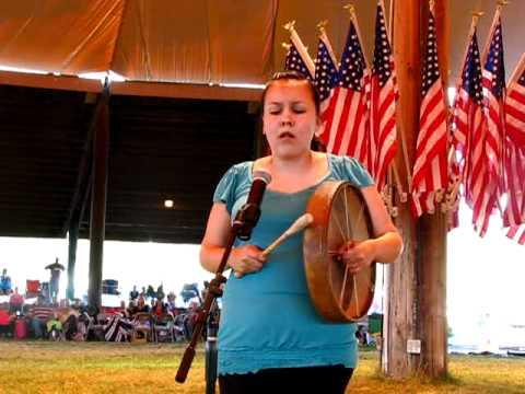 Kalispel Powwow 2010 Hand Drum Contest: Fawn Wood