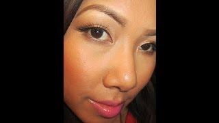 Summer Makeup Tutorial - Pink Pop Lips