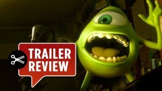 Instant Trailer Review - Monsters University NEW Trailer (2013) - Pixar Movie HD