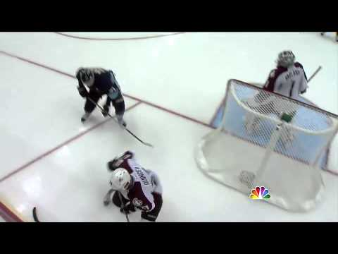 Evgeni Malkin sick goal vs Avalanche (Nov 15, 2011)