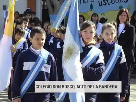Más festejos en las escuelas por el Día de la Bandera