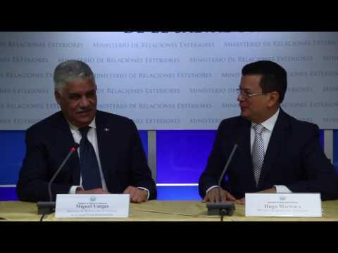 El Salvador y República Dominicana oficializan Declaración de Intención para ingresar a ese país sin visa.