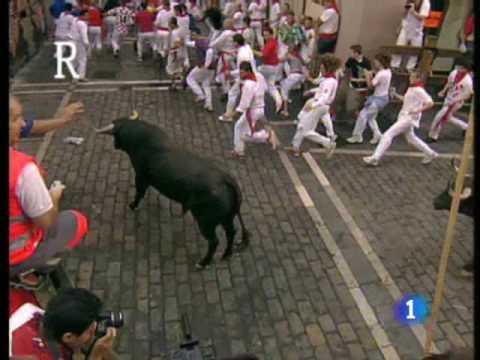 Séptimo encierro de San Fermín 2009