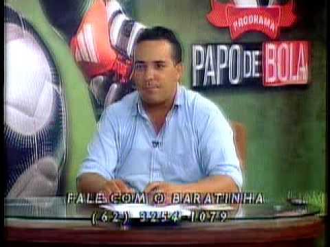 Programa Papo de Bola exibido dia 05 de abril de 2013