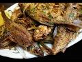Мелкая рыба, пожаренная по узбекски (сай-балык)