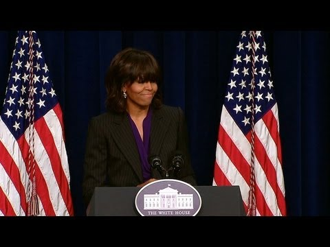 First Lady Speaks at the White House Forum on Military Credentialing and Licensing