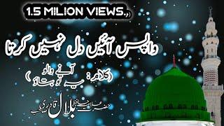 Wapis Ayen Dil Nahi Karta  Allama Hafiz Bilal Qadri  WhatsApp Status Naat