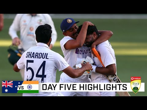 India claim stunning series win, end Australia's Gabba streak | Vodafone Test Series 2020-21