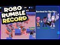 WORLD RECORD ROBO RUMBLE | How to beat 13 minutes | Brawl Stars