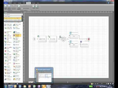 Creating Workflows In Visio 2010 and SharePoint Designer