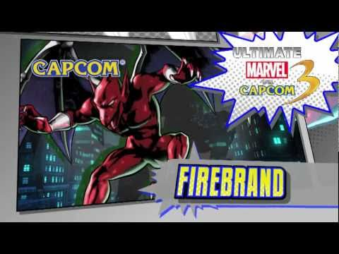 Ultimate Marvel vs. Capcom 3 Official Firebrand Trailer