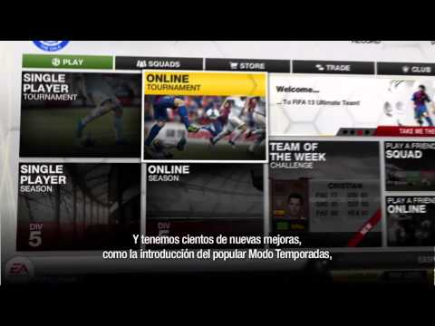 FIFA 13 - Caractersticas de FIFA Ultimate Team
