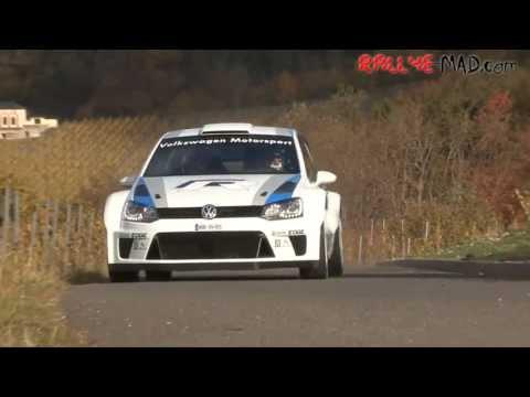 VW Polo R WRC Test 2011 [HD]
