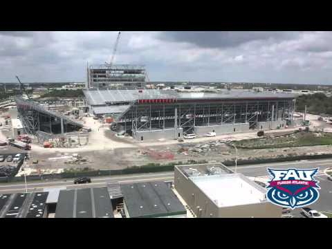 FAU Stadium Time-Lapse - October 4, 2011