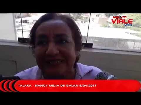 TALARA - ENTREVISTA NANCY MEJIA DE GALAN (5/04/2019)