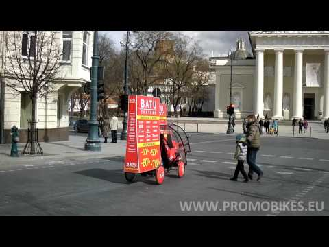 Promobikes and Promowalkers advertising campaign
