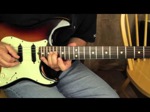 Blues Guitar Lessons - Blues Licks - Rock and Blues Lick