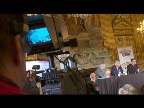 euronews focus - Arab Spring and euro crisis spark debate at Forum Libération
