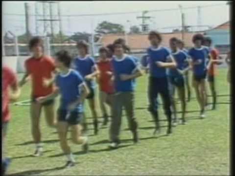 Preparação do União A. Barbarense em 1980