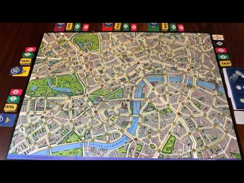 TORTUGA - Scotland Yard Rules & Setup