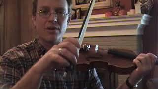 Violin Lesson #12; Straight Bowing techniques, pt. 2