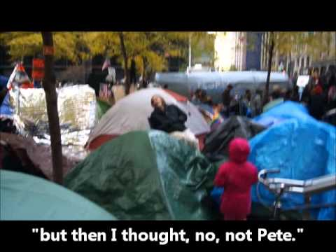 What does Occupy Wall Street look like now? Zuccotti Park, NYC (before the eviction)