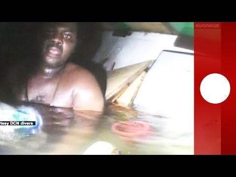 Incredible survival: man trapped at bottom of ocean for 3 days rescued by divers