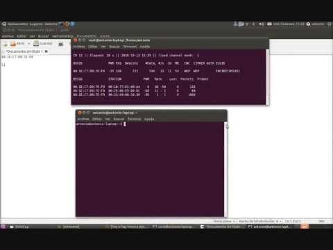 Hackear clave WEP con Aircrack-ng en Ubuntu 10.10