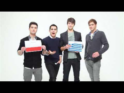 Big Time Rush - Poland vs. Greece (UEFA EURO 2012)