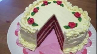 Tarta Terciopelo Rojo Especial San Valentín - Cómo Hacer Red Velvet Cake