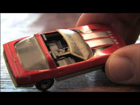 1984 CORVETTE Matchbox car review by CGR Garage
