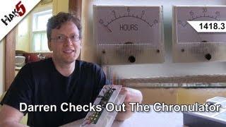 Darren Checks Out The Chronulator, Hak5 1418.3