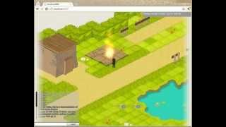 Ezelia Engine (HTML5 isometric game engine) - particles effects