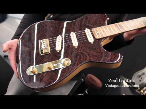 Zeal Guitars / Frankfurt 2013 (2 of 2) / German Boutique Guitars