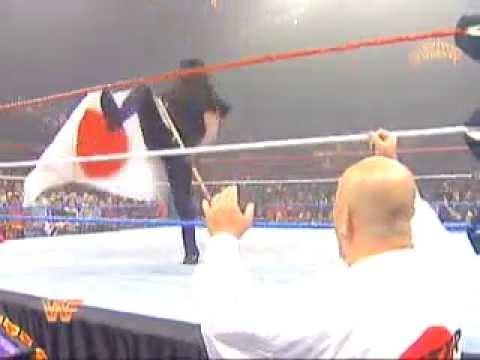 WWF Undertaker ( with Chuck Norris ) vs Yokozuna