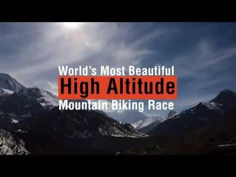 Most beautiful high altitude mountain biking race Yak Ru