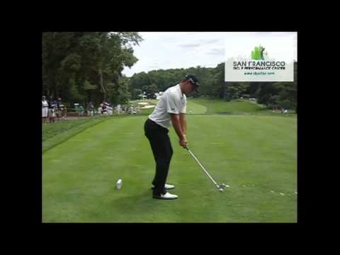 Gary Woodland DL 2-Iron Slow Motion Golf Swing 240 FPS